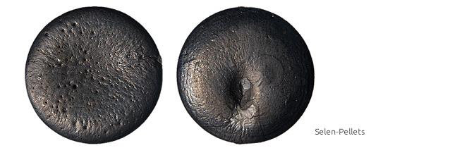 Eigenschaften und Geschichte Selen Pellets